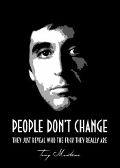 scarface tony montana quote quotes black grey white beegeedoubleyou
