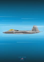 f22 raptor fighter jet combat plane aircraft airplane military weapon war blueprint design schematic diagram usa air force