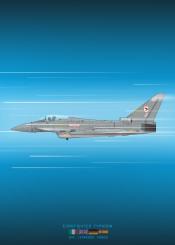 eurofighter typhoon fighter jet combat plane airplane aircraft military world war blueprint schematic diagram