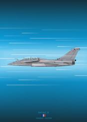 rafale b dassault jet fighter combat weapon plane aircraft airplane military war french blueprint diagram schematic design