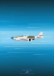 p51d mustang fighter weapon combat plane airplane aircraft military war world blueprint schematic design diagram