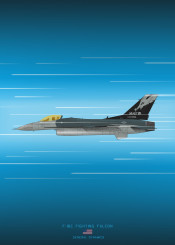 f16 fighting falcon fighter jet combat plane aircraft airplace military weapon war blueprint schematic diagram design
