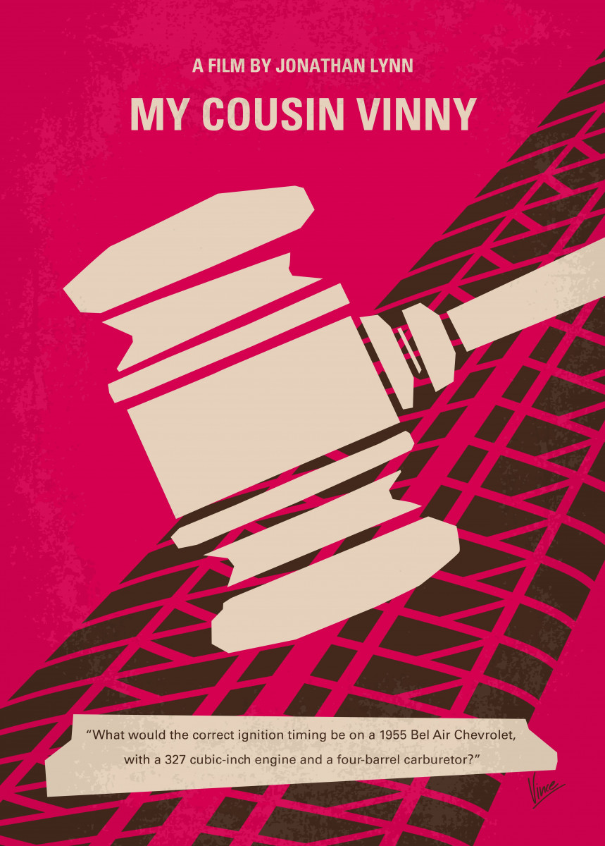 No852 My Cousin Vinny minimal movie poster 362126