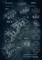 lego legos toy building brick 1958 patent patents patentart vintage blue game kid kids child childhood legendary