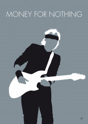 minimal minimalist famous music artwork song alternative graphic design rock chungkong fan star quote inspiration celebrity band mark knopfler money nothing dire straits 1985 80s mtv sting brothers arms