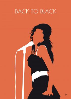 Amy Winehouse Back To Black Album Artwork