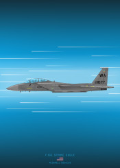 f15 strike eagle fighter jet combat plane military aircraft airplane weapon war usa