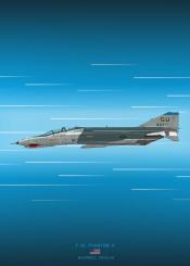f4e phantom ii fighter jet combat plane military aircraft airplane weapon war world usa
