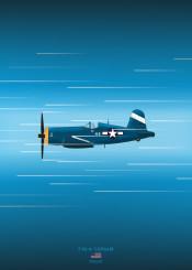 f4u corsair fighter plane military aircraft combat weapon war world blueprint schematic navy design