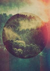 abstract abstractart illustration design graphicdesign digital digitalart forest geometry green photo photomanipulation