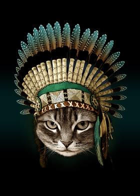 Best Cat Paintings by Cat Iversum | metal posters - Displate