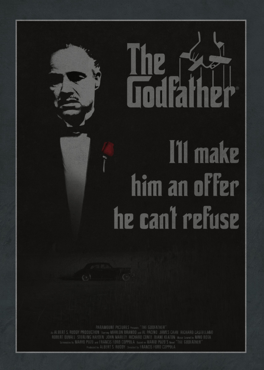 a comparison of the godfather book and movie Francis ford coppola said he recalled the making of the godfather, the subject of a new book, with panic and nausea credit credit jonathan nackstrand/agence france-presse — getty images.