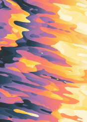 pattern abstract light liquid floating clouds dusk dawn shine glow warm yellow colorful shapes surreal camouflage dream fluid modern smooth psychedelic waves lava