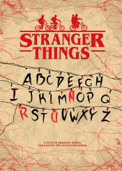 stranger things duffer tv show movie film horror cult retro fanart minimal