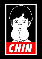 boy chin saitama genos onepunchman one punch man anime manga funny parody