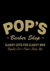 pops barber shop harlem lukecage luke cage typography