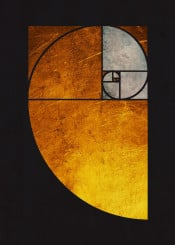 abstract ratio geometric golden modern cool collage
