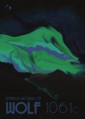 vintage space deco wolf 1061c aroura