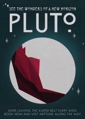 space science deco nasa pluto new horizon solar system