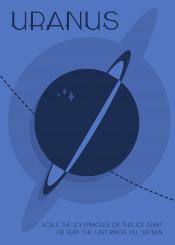 space science travel deco uranus solar system nasa