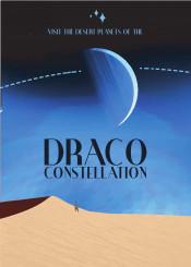 space science travel deco nasa draco constellation