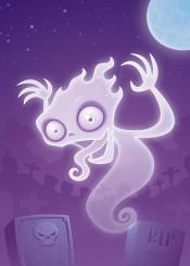 graveyard ghoul apparition ghost phantom cartoon halloween wraith spooky specter cemetery spirit poltergeist