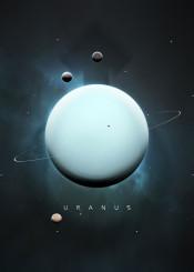 space universe solar system minimalistic minimalism planets science stars moon symbol nature gas giant uranus