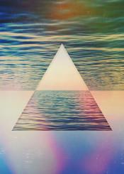 abstract abstractart illustration design graphicdesign traingle geometry vintage digital digitalart landscape sea seascape