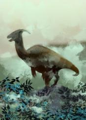 parasaurolophus animal animals jurassic world dinosaur dinosaurs