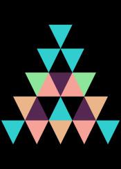 illustration pattern geometric pyramid triangle geometry geometrical shape triangular colorful abstract