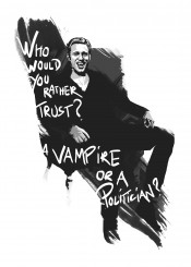 true blood eric northman dracula vampire white black tv shows movies films