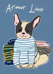 armorlux breton stripes french france bulldog frenchbulldog