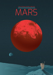 mars solar system planet cosmos space