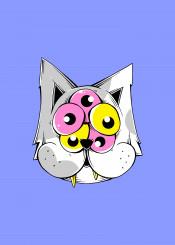 cat cute weird animal alien monster dork nerd