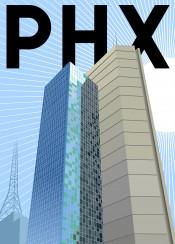 phx phoenix arizona chase building downtown skyscraper palm tree desert sun tempe flagstaff tucson