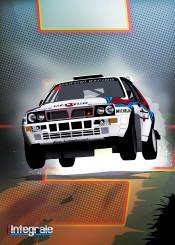lancia delta integrale racing cars car
