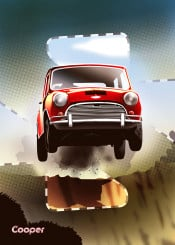 cooper racing cars car