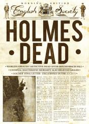 sherlock holmes news books crime moriarty watson fakenews cult retro cool press detective