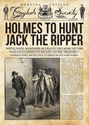 ripper sherlock holmes crime victorian watson detective books fiction cult film tv retro news fakenews press