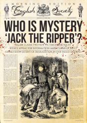 jacktheripper ripper crime slasher horror news press books fiction realnews fakenews detectives history blood retro cult