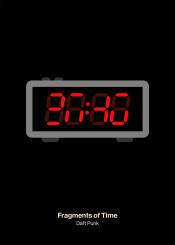 daft punk fragments time alarm clock minimal pictogram
