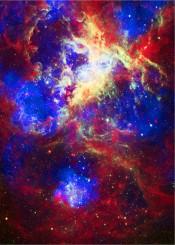 tarantula nebula hst jpl nasa