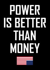 power money house cards frank underwood claire