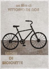 bicycle thieves ladri biciclette minimal movie realism design film modern classic cult italy minimalist alternative