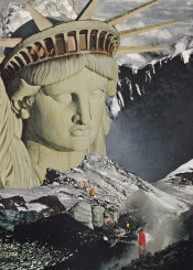 collage photomontage illustration