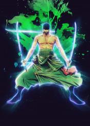 zoro onepiece green renegade
