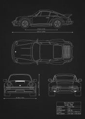 Supercars Blueprints By Rockstone Metal Posters Displate