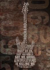rock quote text roll rocknroll