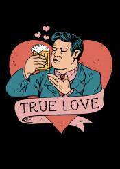 love beer drinks cheers original