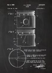 piston engine patent drawing car vintage cars truck parts motorbike bike motorcycle motor blackboard blueprint blackprint